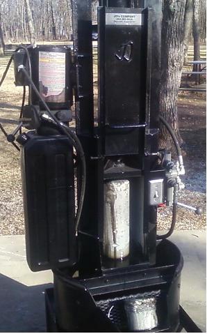 Hydralic Oil Filter Crusher