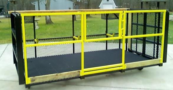 Fold Down Platform